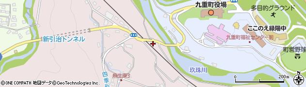 大分県玖珠郡九重町町田5464周辺の地図