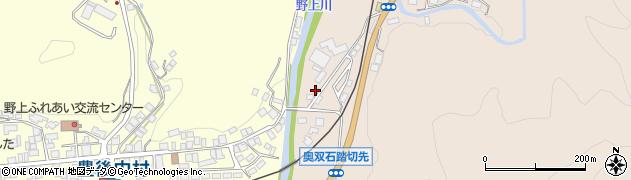 大分県玖珠郡九重町野上1317周辺の地図
