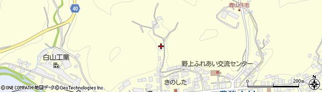 大分県玖珠郡九重町右田996周辺の地図