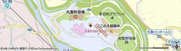 大分県玖珠郡九重町後野上17周辺の地図