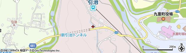 大分県玖珠郡九重町町田917周辺の地図