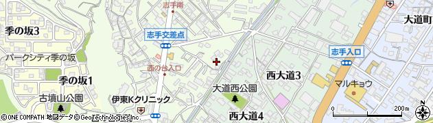 毘沙門堂周辺の地図