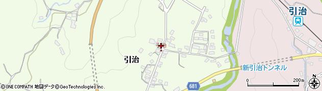 大分県玖珠郡九重町引治956周辺の地図