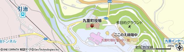 大分県玖珠郡九重町後野上8周辺の地図