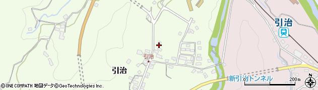 大分県玖珠郡九重町引治490周辺の地図
