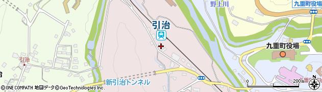 大分県玖珠郡九重町町田5960周辺の地図