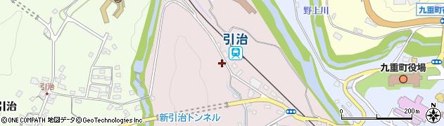 大分県玖珠郡九重町町田918周辺の地図