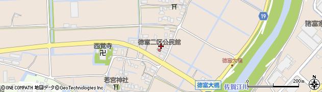 佐賀県佐賀市諸富町大字徳富周辺の地図