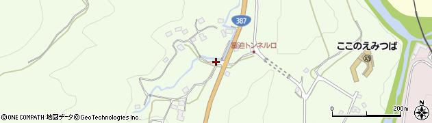 大分県玖珠郡九重町引治229周辺の地図