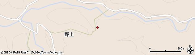 大分県玖珠郡九重町野上2188周辺の地図