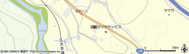 大分県玖珠郡九重町右田2050周辺の地図