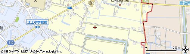 福岡県久留米市城島町江上周辺の地図