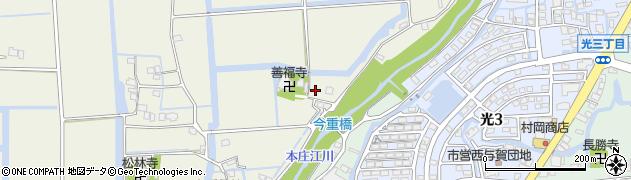 佐賀県佐賀市嘉瀬町(中原有重)周辺の地図
