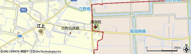 清浄院周辺の地図