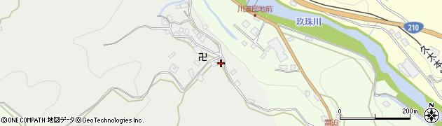 大分県玖珠郡九重町粟野453周辺の地図