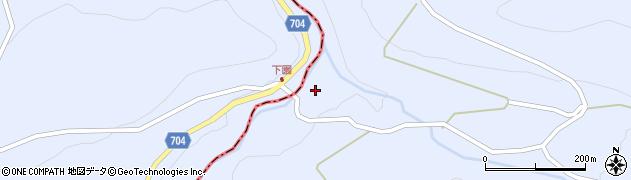大分県玖珠郡玖珠町山浦2196周辺の地図