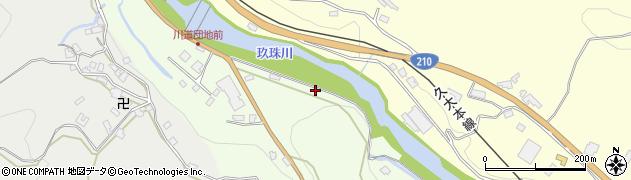 大分県玖珠郡九重町引治20周辺の地図