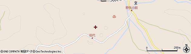 大分県玖珠郡九重町野上2654周辺の地図