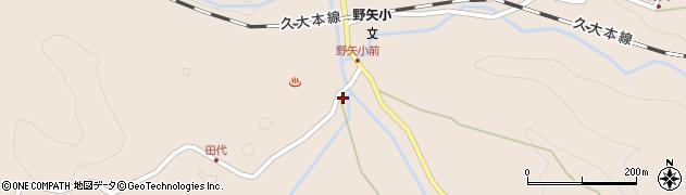大分県玖珠郡九重町野上2728周辺の地図