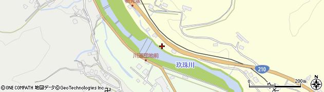 大分県玖珠郡九重町右田2301周辺の地図