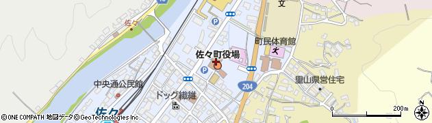 長崎県北松浦郡佐々町周辺の地図