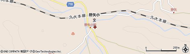 大分県玖珠郡九重町野上3452周辺の地図