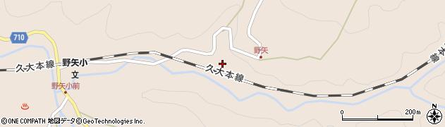 大分県玖珠郡九重町野上3524周辺の地図