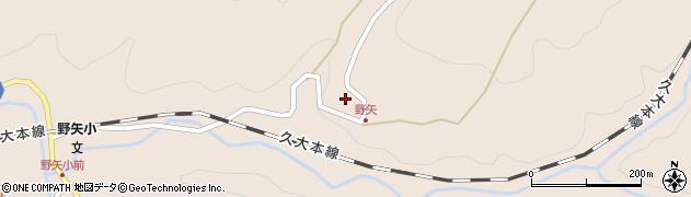 大分県玖珠郡九重町野上3539周辺の地図