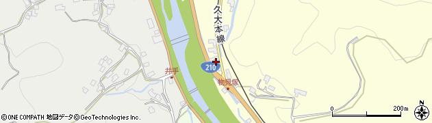 大分県玖珠郡九重町右田2326周辺の地図