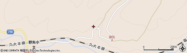 大分県玖珠郡九重町野上3505周辺の地図