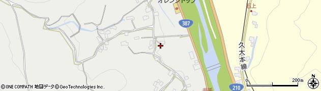 大分県玖珠郡九重町粟野322周辺の地図