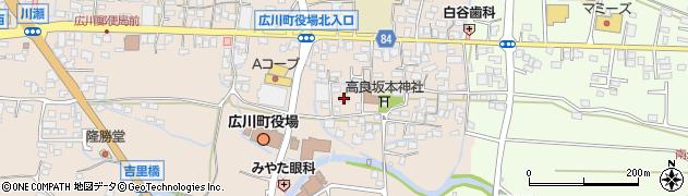 ミキハウス周辺の地図