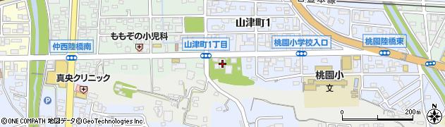 潮聞寺周辺の地図
