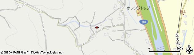 大分県玖珠郡九重町粟野788周辺の地図