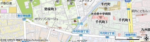 西應寺周辺の地図