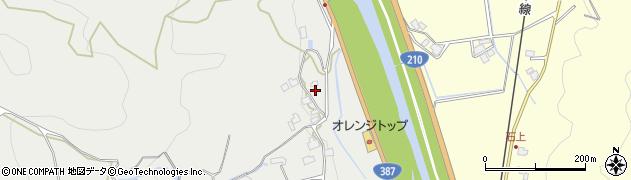 大分県玖珠郡九重町粟野249周辺の地図