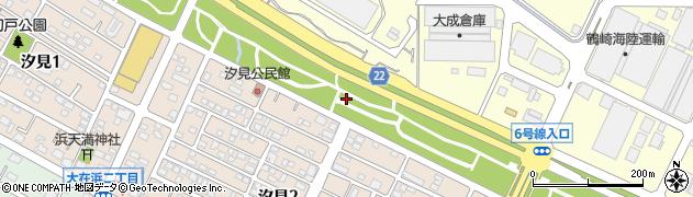 大分県大分市浜(汐見)周辺の地図