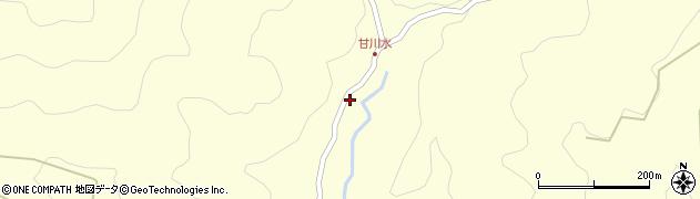 大分県玖珠郡九重町右田186周辺の地図