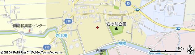 福岡県久留米市三潴町壱町原周辺の地図