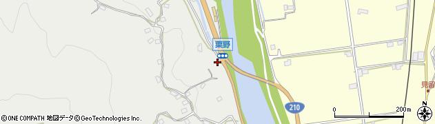 大分県玖珠郡九重町粟野1003周辺の地図