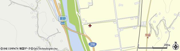 大分県玖珠郡九重町粟野180周辺の地図
