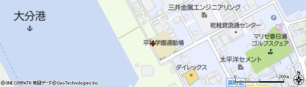 大分県大分市勢家(春日浦)周辺の地図