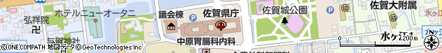 佐賀県周辺の地図