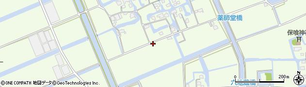 佐賀県佐賀市巨勢町(修理田)周辺の地図