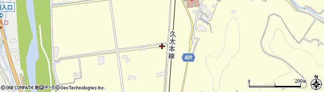 大分県玖珠郡九重町右田2874周辺の地図