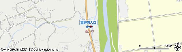 大分県玖珠郡九重町粟野1239周辺の地図