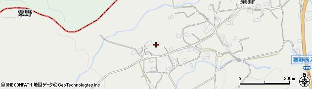 大分県玖珠郡九重町粟野1319周辺の地図