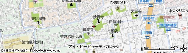 佐賀県佐賀市伊勢町周辺の地図