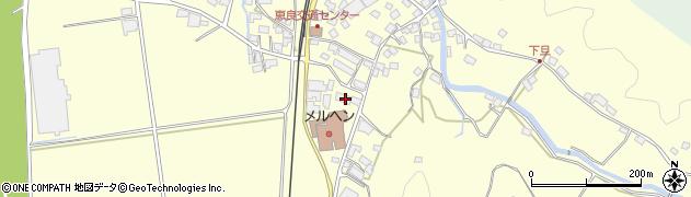 大分県玖珠郡九重町右田3159周辺の地図
