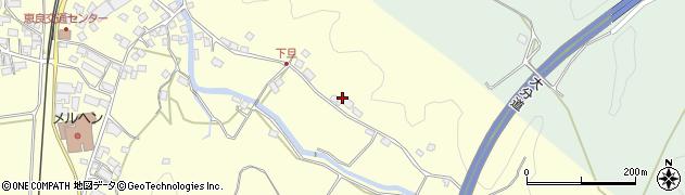 大分県玖珠郡九重町右田3496周辺の地図